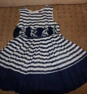 Платье на девочку,рост 98