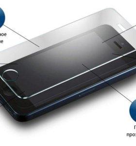 Защитное стекло для iPhone 5/5s.