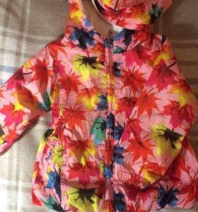 Куртка Fun Time ветровка для девочки