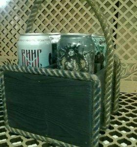 Подарочный ящик для пива