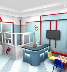 3 d визуализация интерьера и мебели