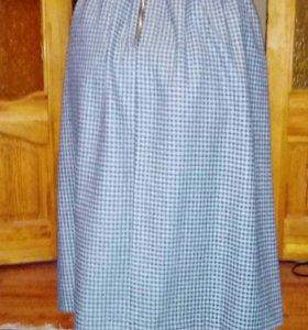 Тёплая юбка баон