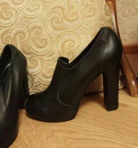 Закрытые туфли-ботильоны