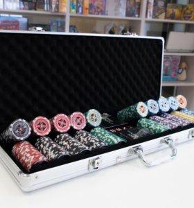 Набор для покера Ultimate 500 фишек