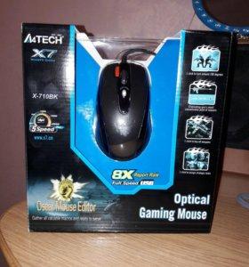 Мышь A4TECH X-710BK