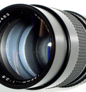 Портретник Tokina на Canon FD - MF135/2.8