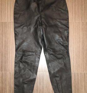 Кожаные брюки MANGO новые