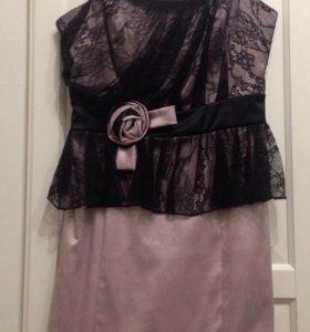 Красивое платье р 42-44Италия , сост нового‼️