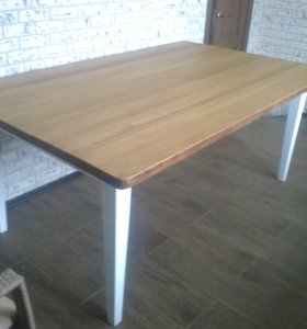 Столы ЛИСТВЕННИЦА 1.2 м / 2м обеденные