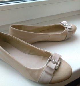 Туфли -балетки 37размер