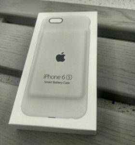 Apple iPhone 6/6s Smart Battery Case Белый