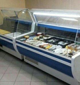 Морозильные лари и холодильные ветрины