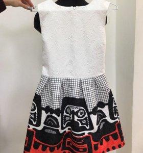 Жаккардовое платье 😍