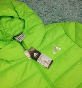 Новая куртка Adidas мужская