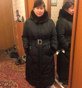 Пальто на синтепоне новое 50-52 раз