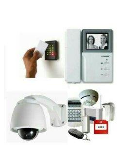 Домофоны, системы безопасности