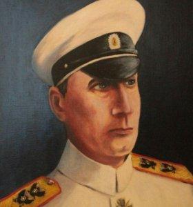 Портрет адмирала Колчака