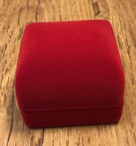 Коробочка для кольца 💍 алая
