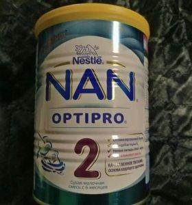 Смесь Nan 2. могу на обмен банка 400 гр