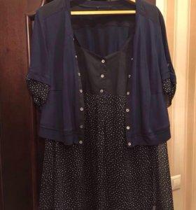 Блуза 62-64 разм