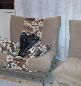 Продаю диван и 2 кресла.