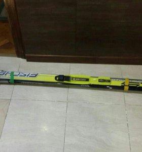 лыжи с палками 170