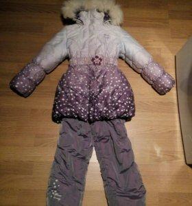 Детский комбинезон, теплая зима