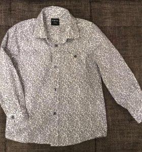 Нарядная рубашка для мальчика р.92/104