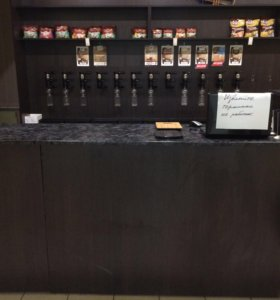 Мебель для магазина разливного пива