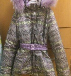 Зимняя куртка. Рост 140.