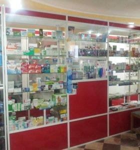 Мебель для аптеки, использовано очень аккуратно