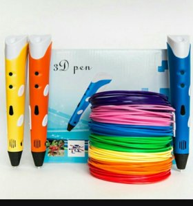 3d ручки, нити