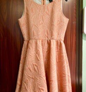 Шикарное платье HM с люрексом. Нью-йорк. Новое