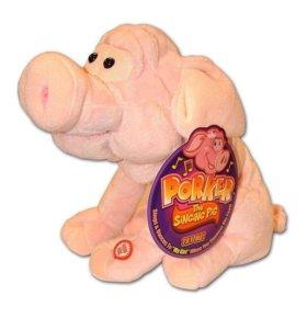 Новая поющая и танцующая игрушка Свинка Porker the