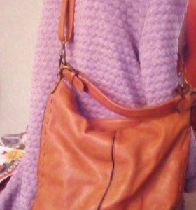 2 сумки кожаные