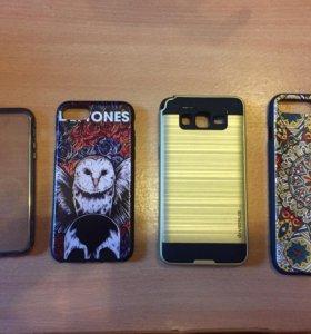 Чехлы на iPhone и Samsung