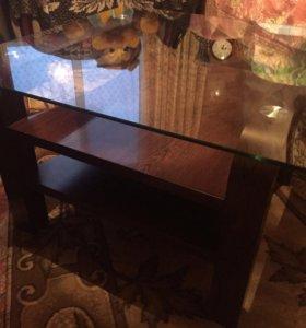 Новый стеклянный столик