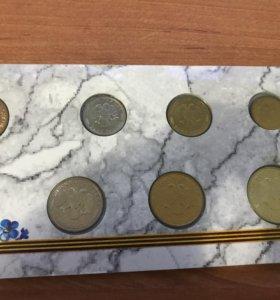 Коллекционный набор монет серии 50 лет Великой Поб