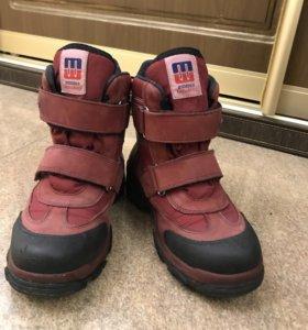 Зимние ботинки, 34 размер