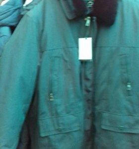 Пуховик зимний, 66 размер