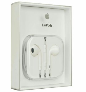 Наушники Apple EarPods на IPhone с входом 3,5мм