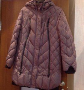 Куртка зимняя б/у, синтепон