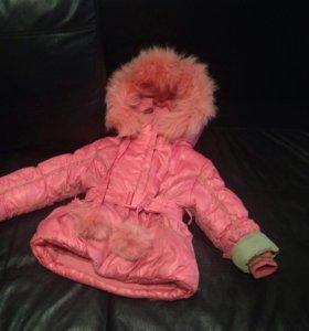 Зимний костюм на девочку до 3 лет