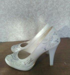 Свадебные туфли 36 размер