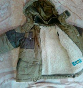 Зимняя куртка 106-110см