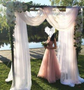 Роскошное 🌸💖 вечернее свадебное платье