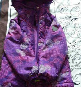 Куртка весна-осень , р-р 116-122, шапка в подарок