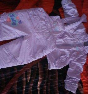 Детская утепленная одежда