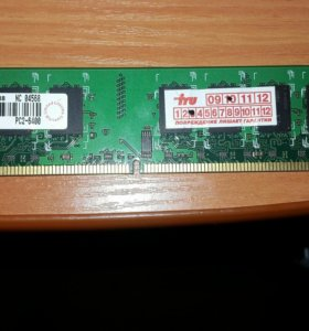 Оперативная память 2гб ддр2 800гц
