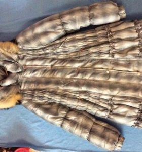 Пальто для беременных зимнее 46
